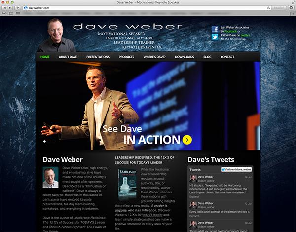 Dave Weber website